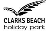 Clarks Beach Holiday Park logo
